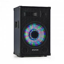 "Fenton TL12LED, 3-cestný pasívny reproduktor, RGB LED, 12"" woofer 600W, stredový horn, tweeter"