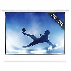 FrontStage PSEB-135, rolovateľné plátno s rozmermi 240 x 240 cm, formátom obrazu