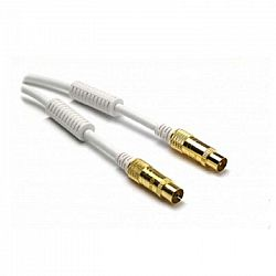 G&BL Anténny kábel, biely, 7,5 m