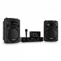 Ibiza DJ300MK2 disko zvuková sada, AUX, MIC