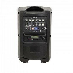 Ibiza MOV8-CD, 150 W, prenosný zosilňovací systém, CD, USB, SD, bluetooth, VHF