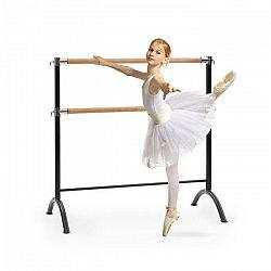 KLARFIT Barre Anna, dvojitá baletná tyč, voľne stojaca, 110 x 113 cm, 2 x 38 mm Ø