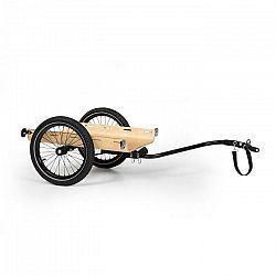 KLARFIT Companion Travel, nákladný príves, 40 kg, príves za bicykel, čierna/drevo
