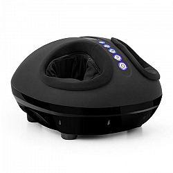 KLARFIT Feetmaster, čierny, masážny prístroj na nohy, funkcia ohrievania, 3 masážne programy