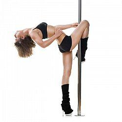 KLARFIT Luxor tanečná tyč, 2,74 m, 45 mm, otáčacia/statická, profesionálna tyč