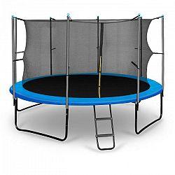 KLARFIT Rocketboy 366, 366 cm trampolína, vnútorná bezpečnostná sieť, široký rebrík, modrá