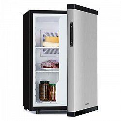 Klarstein Beerbauch, chladnička, 65 l, termoelektrická, A+, tichá, strieborná