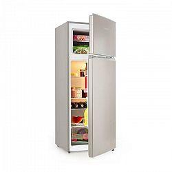 Klarstein Big Daddy L, kombinovaná chladnička s mrazničkou, 207 litrov, A++, vzhľad ušľachtilej ocele