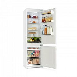 Klarstein CoolZone, vstavaná chladnička s mrazničkou, 241 litrov, A+, 41 dB, biela