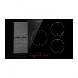 Klarstein Delicatessa 90 Hybrid, vstavaná indukčná varná doska, 5 zón, 7000 W, čierna