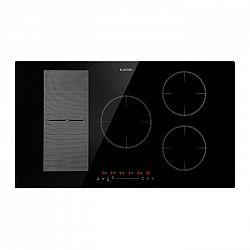 Klarstein Delicatessa 90 Hybrid, vstavaná varná doska, indukcia, 5 zón, 7000 W, čierna