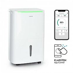 Klarstein DryFy Connect 30, odvlhčovač vzduchu, WiFi, kompresia, 30 l/d, 25 – 30 m², biely