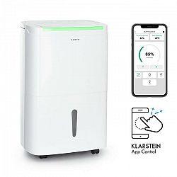Klarstein DryFy Connect 40, odvlhčovač vzduchu, WiFi, kompresia, 40l/d, 35-45m², biely