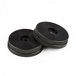 Klarstein Filtre s aktívnym uhlím do digestorov, náhradný diel, 2 filtre, recirkulačný režim, Ø 10.5 cm