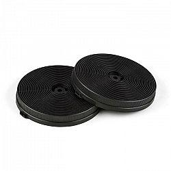 Klarstein Filtre s aktívnym uhlím do digestorov, náhradný diel, 2 filtre, recirkulačný režim, Ø 11.5 cm