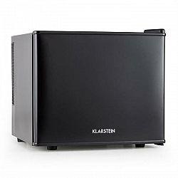 Klarstein Geheimversteck, čierna, 17 l, 50 W, A+, minibar, mini chladnička