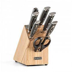 Klarstein Katana 8, sada nožov, 8-dielna, nožnice, ocieľka, nožový blok
