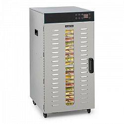 Klarstein Master Jerky 300, sušička potravín, 2000 W, 40 – 90 °C, 24 hod. časovač, ušľachtilá oceľ, strieborná