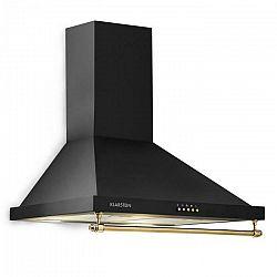 Klarstein Montblanc, digestor, 610 m³/h, 165W, 2x1,5W LED, závesná tyč, čierny
