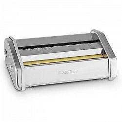 Klarstein Siena Pasta Maker, 1 mm & 12 mm, násada na prípravu rezancov, príslušenstvo, nehrdzavejúca oceľ