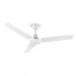 Klarstein Spin Doctor, stropný ventilátor, 55 W, 122 cm, 3 ramená, nehrdzavejúca oceľ, biely