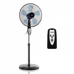 Klarstein Summerjam, stojanový ventilátor, 41 cm, 50 W, 3 stupne rýchlosti, diaľkový ovládač, čierny