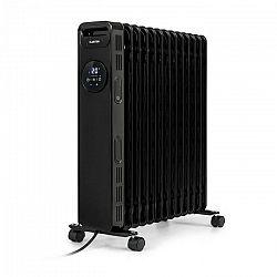 Klarstein Thermaxx Heatstream, olejový radiátor, 2500 W, 5 – 35 °C, 24-hod. časovač, čierny