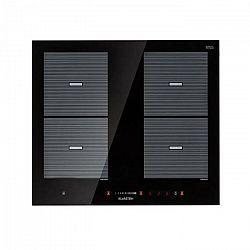 Klarstein Virtuosa Flex 60, indukčná varná doska, 4 zóny, 7200 W, Ceran, vstavaná, čierna