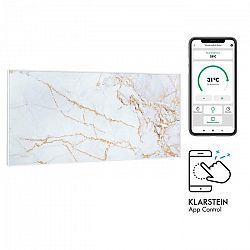 Klarstein Wonderwall Air Art Smart, infračervený ohrievač, 120 x 60 cm, 700 W, aplikácia, mramor I