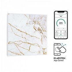 Klarstein Wonderwall Air Art Smart, infračervený ohrievač, 60 x 60 cm, 350 W, aplikácia, mramor I