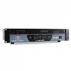 Malone DX1200, 1200 W, premostiteľný, PA zosilňovač