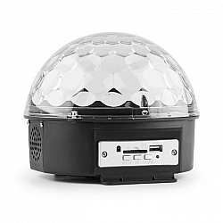MAX Magic Jelly DJ Ball s MP3 prehrávačom, LED svetelný efekt, RGB, ovládanie hudbou, USB, SD