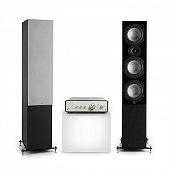 Numan Drive 801, stereo sada, stereo zosilňovač, vežový reproduktor, čierna/sivá