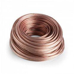 Numan reproduktorový kábel - OFC, transparentný, medený, 2 x 2,5 mm², 30 m