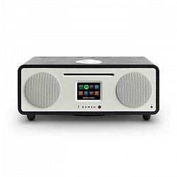 Numan Two, dub, 2.1 internetové rádio, CD, 30 W, USB, bluetooth, Spotify Connect, DAB+, čierny dub