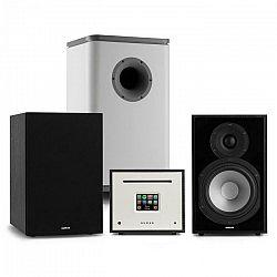 Numan Unison Reference 802 Edition, stereo systém, zosilňovač, reproduktory, čierna/sivá