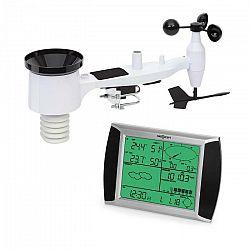 OneConcept Beaufort, meteostanica, bezdrôtová, dosah do 100 m, LCD dotykový displej, solárna