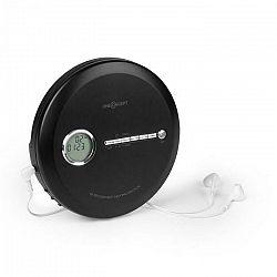 OneConcept CDC 100MP3 Discman Disc-Player, LCD ASP, zosilňovač basov, 2x1,5V; čierna farba