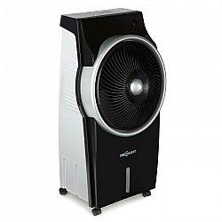 OneConcept Kingcool, ochladzovač vzduchu, klimatický prístroj, ventilátor, ionizátor, čierny