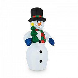 OneConcept Mr.Frost, Frost, 240 cm, nafukovací snehuliak, LED