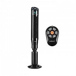 OneConcept Northpeak, stĺpový ventilátor, výškovo nastaviteľný, 50 W, časovač, diaľkový ovládač, čierny