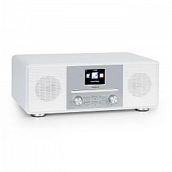 OneConcept Streamo CD, internetové rádio, 2 x 10 W, WLAN, DAB+, FM, CD prehrávač, BT, biele