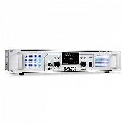PA zosilňovač Skytec SPL 700, USB, SD porty na prehrávanie M