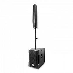 "Power Dynamics PD815A, zvukový systém, 15"" (38 cm) subwoofer, 8 x 4'' (8 x 10 cm) reproduktor"