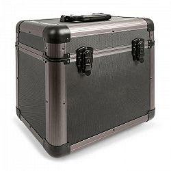"Power Dynamics PRC100 12"" Titanium kufrík na gramofónové platneVinyl Case 100 platní"