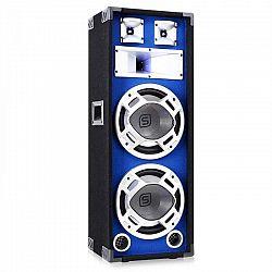 Skytec PA reproduktor s 2 x 25 cm subwooferom, modrý LED efekt