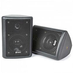 Skytec pár 2-pásmových stereo reproduktorov, čierne, 75 W max., vrátane montážneho materiálu
