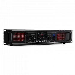 Skytec SPL 1500BTMP3, 1500 W, hi-fi/PA zosilňovač, bluetooth