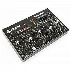 Skytec STM-2290, 6-kanálový mixér, bluetooth, USB, SD, MP3, FX