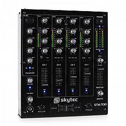 Skytec STM-7010, 4-kanálový DJ mixážny pult, USB, MP3, EQ